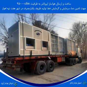 ساخت هواسازایرواشر خط تولید ظروف یکبارمصرف